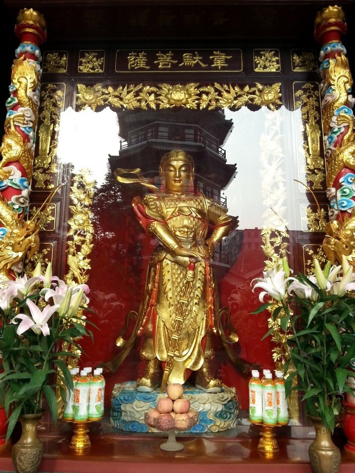 Guangzhong Liurong Temple - Crédit Photo : Hind Daif.